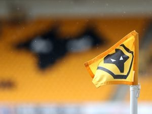 """A general view inside of the ground before the pre-season friendly match at Molineux Stadium, Wolverhampton. Picture date: Saturday August 7, 2021. PA Photo. See PA story SOCCER Wolves. Photo credit should read: Bradley Collyer/PA Wire. ..RESTRICTIONS: EDITORIAL USE ONLY No use with unauthorised audio, video, data, fixture lists, club/league logos or """"live"""" services. Online in-match use limited to 120 images, no video emulation. No use in betting, games or single club/league/player publications.."""