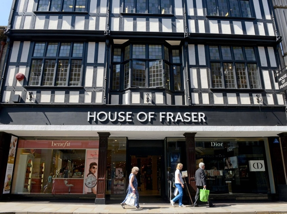 Ashley admits 'challenges' in House of Fraser revival