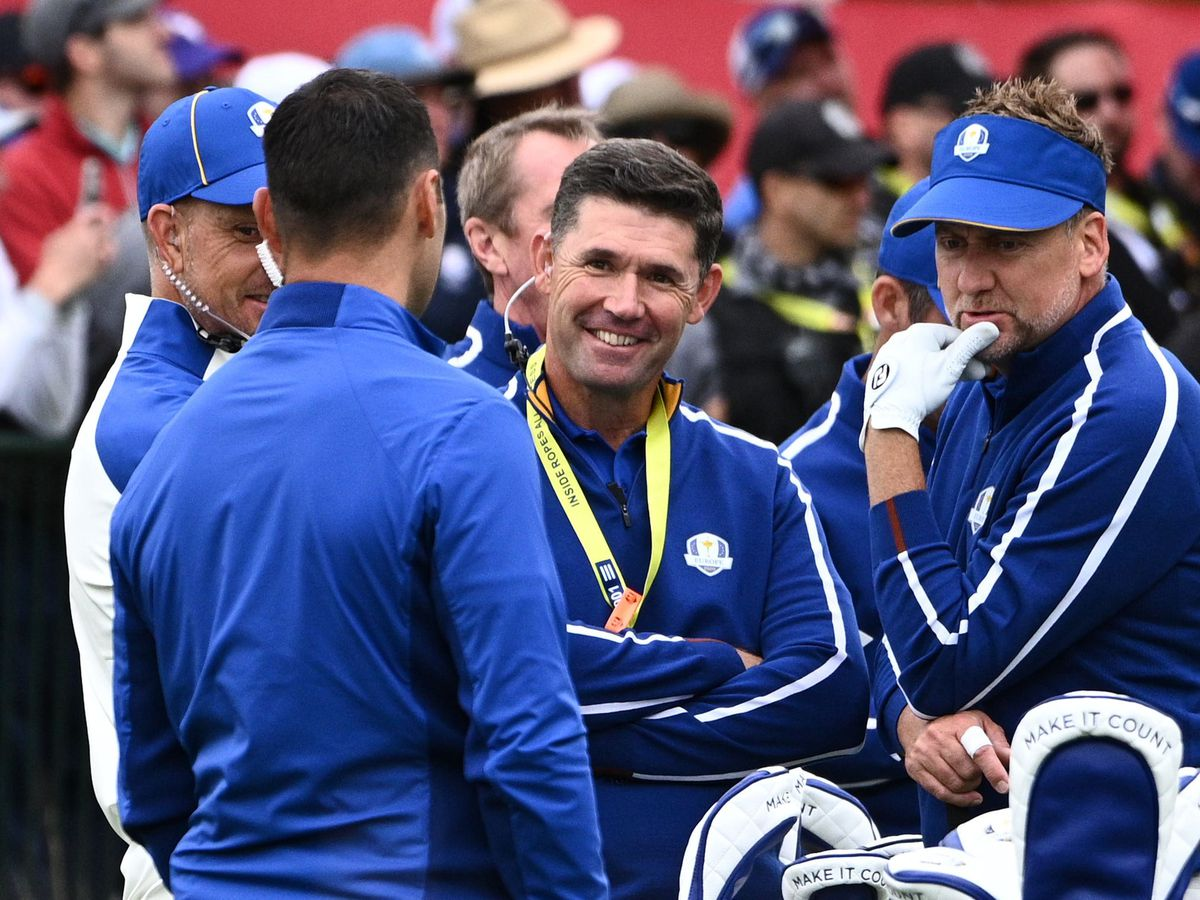 Team Europe captain Padraig Harrington during the second preview day of the 43rd Ryder Cup
