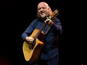 Bill Bailey on stage