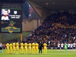 Cyrille Regis honoured before England U21 Molineux win