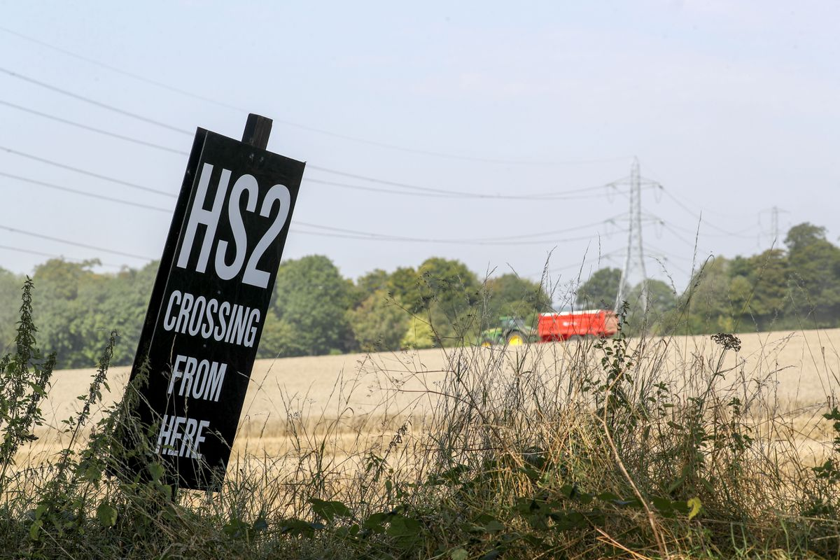 There have been growing concerns over the cost of HS2