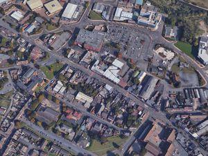 An aerial view of Brierley Hill High Street. Photo: Google