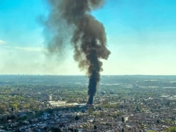 GALLERY: Huge smoke plume from Willenhall recycling fire seen across the Black Country