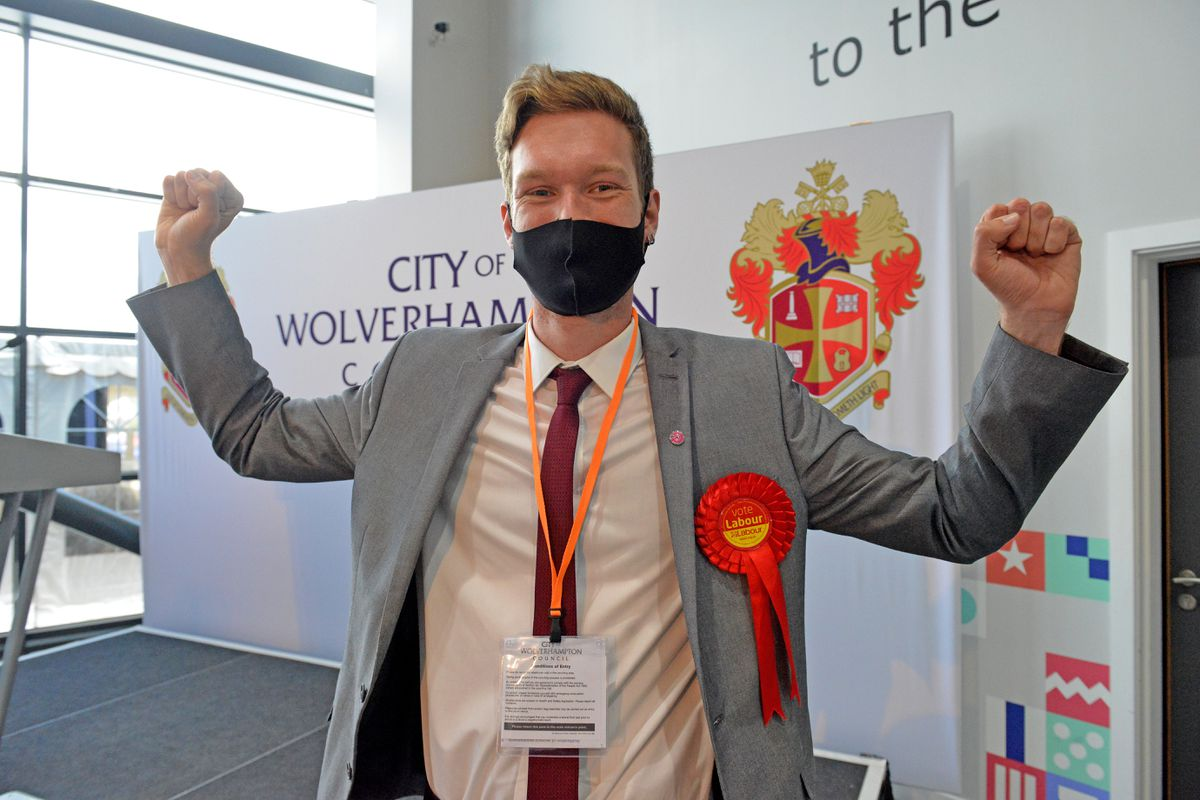 Councillor Chris Burden is now the youngest councillor in the city, aged 25.