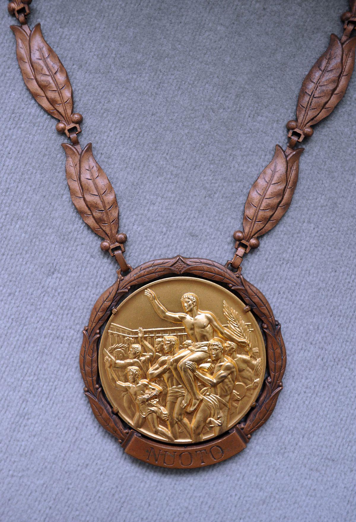 Anita's Olympic gold medal