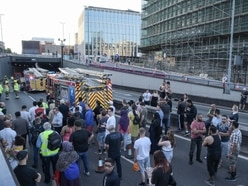 Drivers led to safety in Birmingham city centre as serious crash and car fire in A38 tunnel