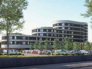 Artists' impression of how the new apartment complex could look. Photo: Birmingham City Council