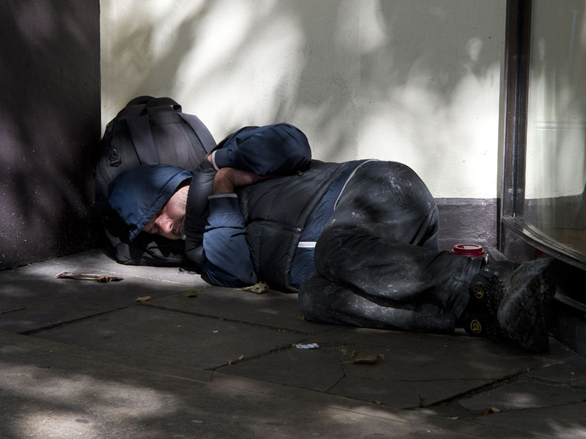 Rough sleeper numbers have fallen in the West Midlands