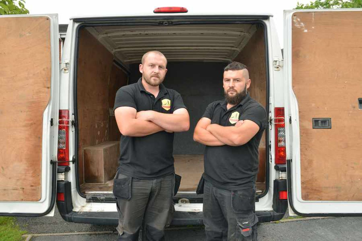 Brothers' warning as gear stolen from van parked at Bilston B&Q