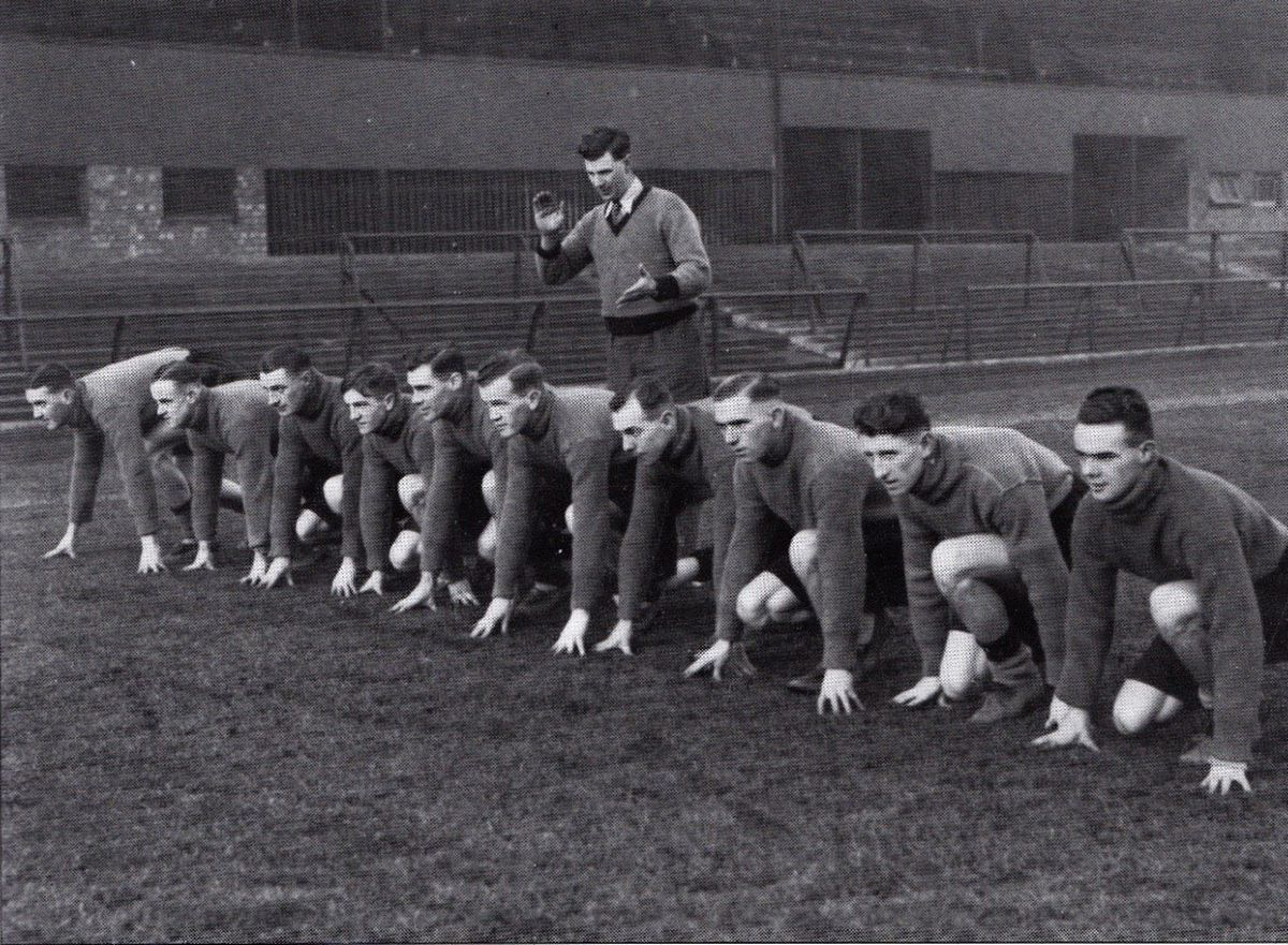 Jack during a training session at Wolves