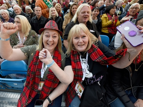Sir Rod Stewart live in Wolverhampton: Can you spot yourself in the Molineux crowd?
