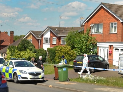 Police probe as man and woman found dead in Hednesford