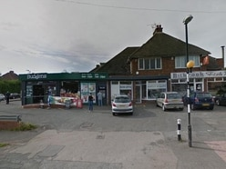 Village shop staff confront raiders armed with hammers