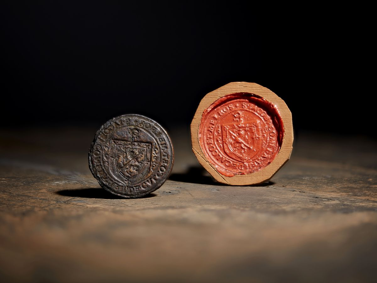 The rare 16th century seal