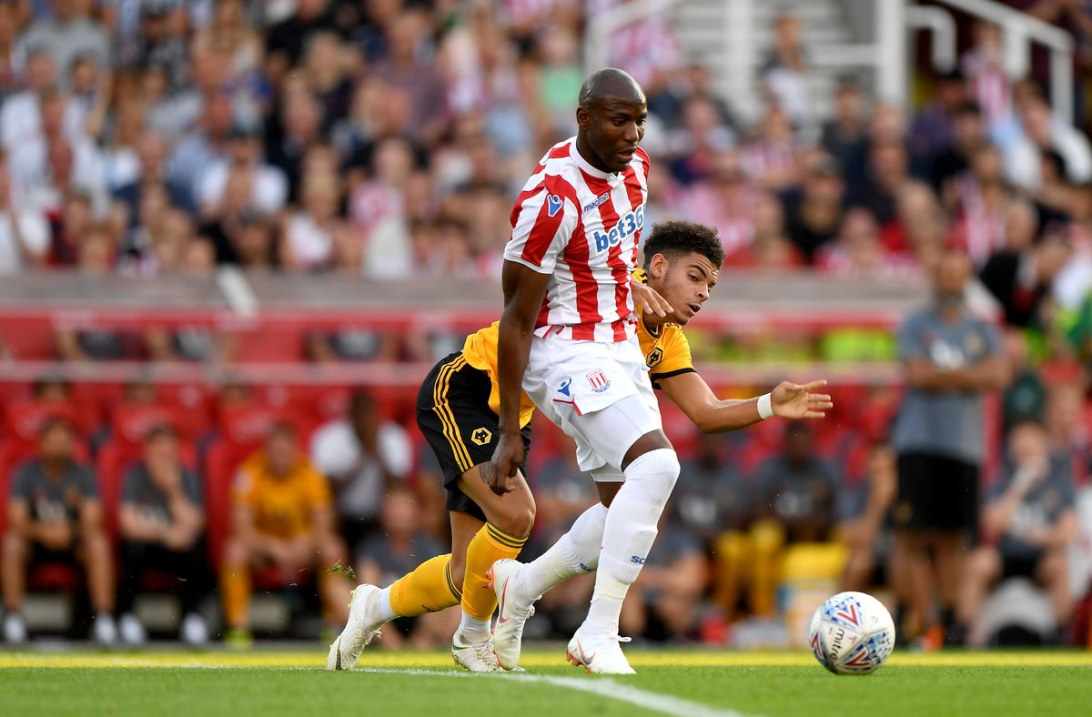 Benik Afobe lined up against Wolves in a pre-season friendly last month (© AMA / Sam Bagnall)