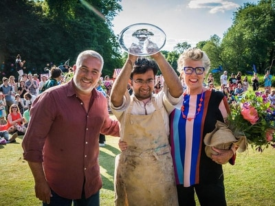 Bake Off's Rahul thanks colleagues in touching Easter cake Instagram post