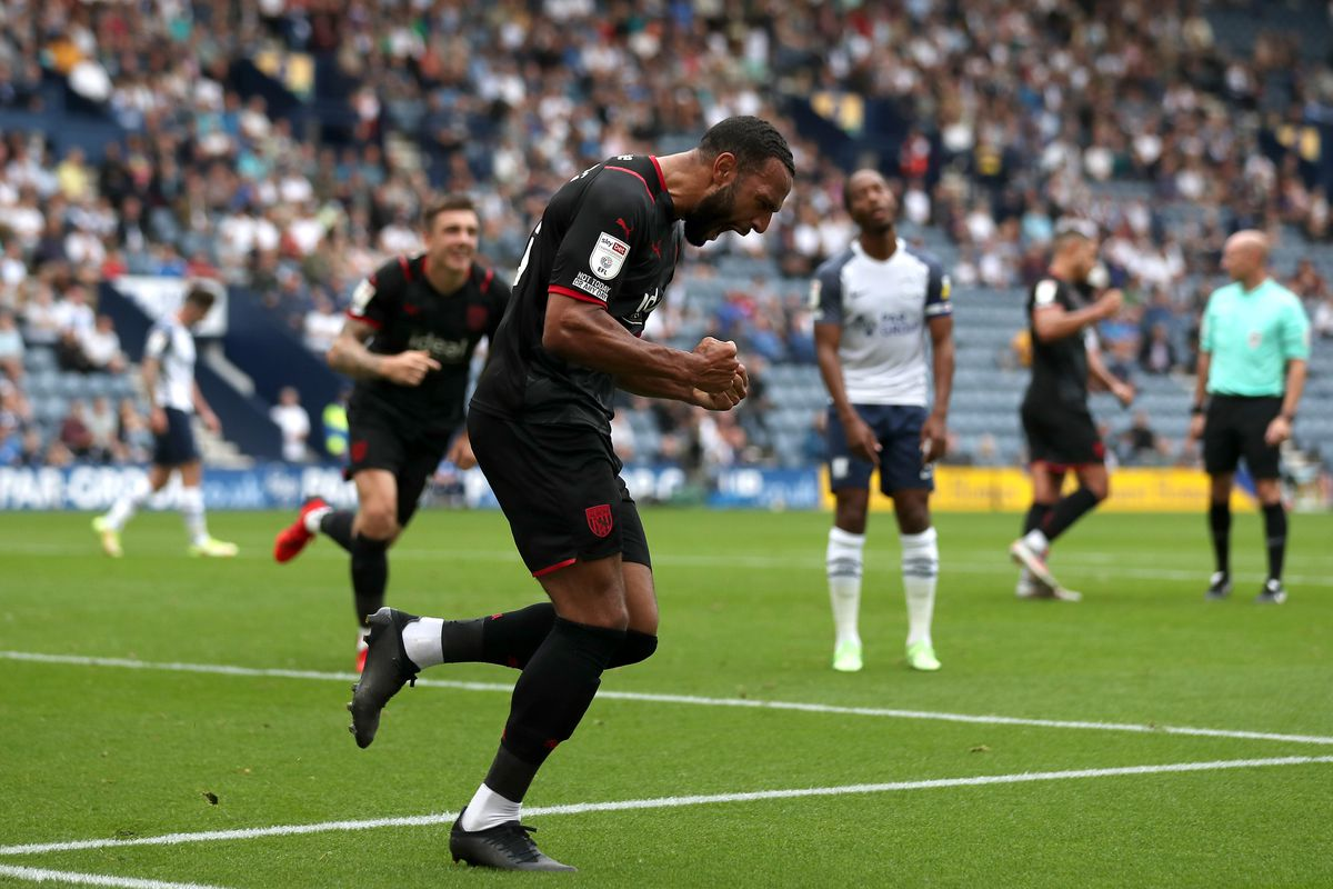 Matt Phillips of West Bromwich Albion celebrates (Photo: WBA/Adam Fradgley)