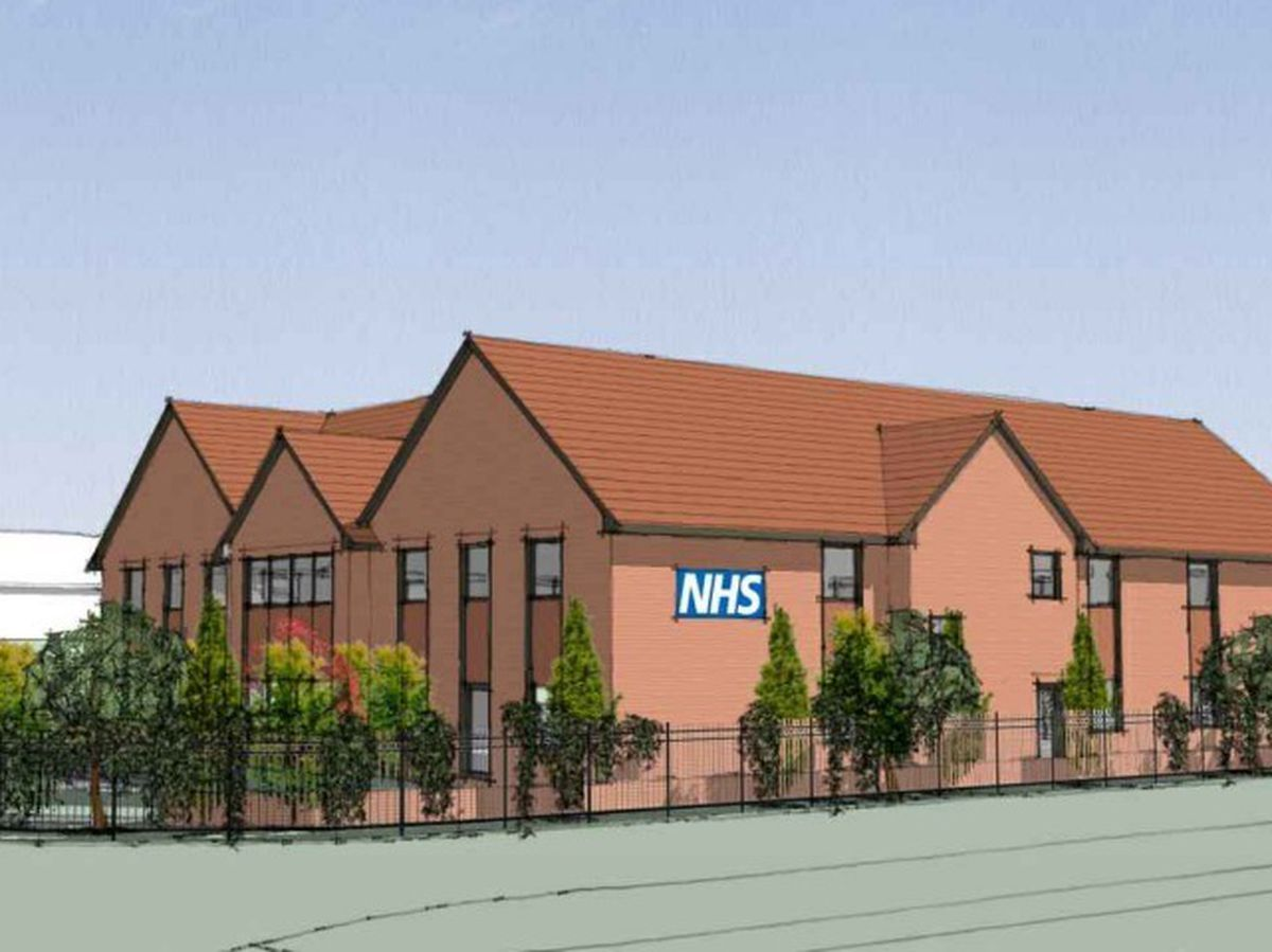 Artist impression of proposed new medical centre in Bushbury. Photo: Primary Secondary Design
