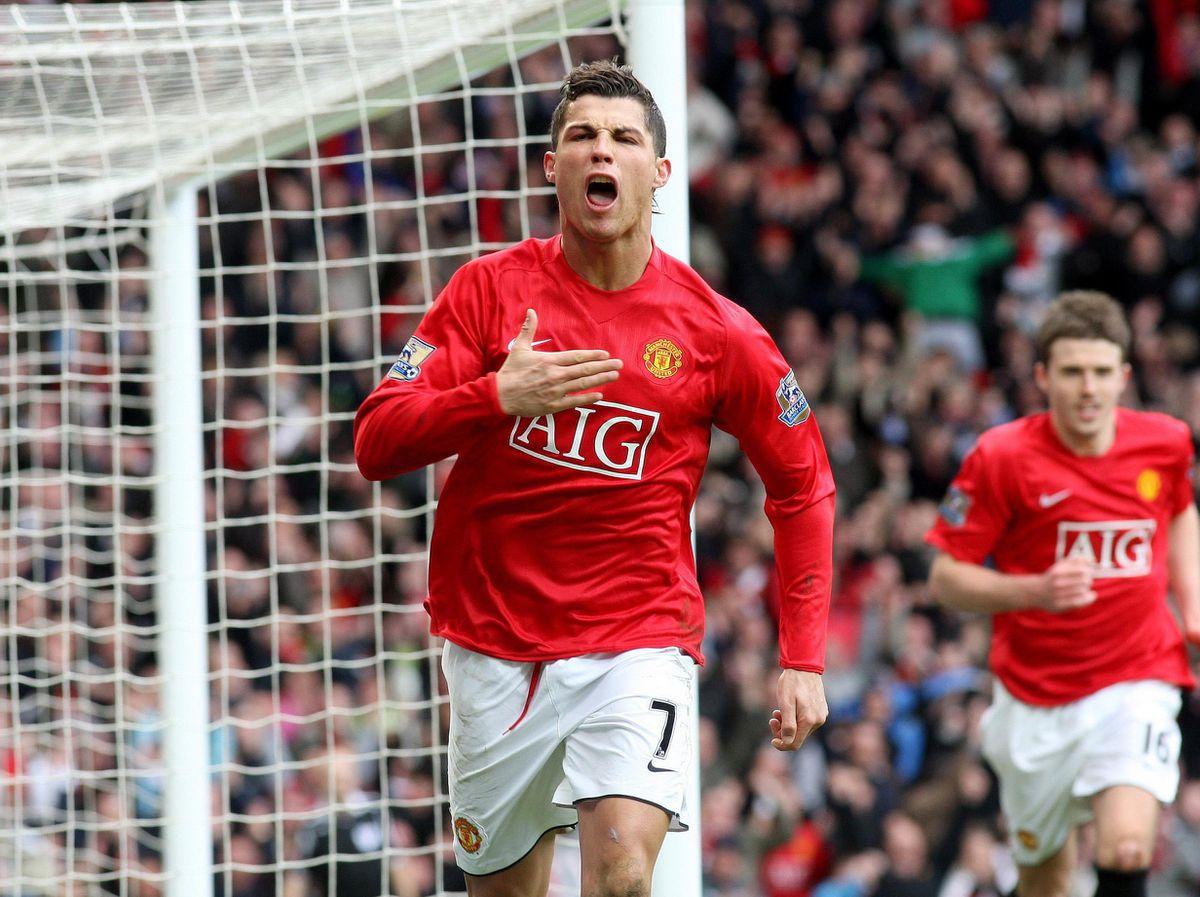 File photo dated 23-03-2008 of Manchester United's Cristiano Ronaldo.