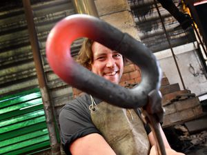 Metal artist Luke Perry is opening his Mushroom Green Chain Shop this weekend for the first time since lockdown