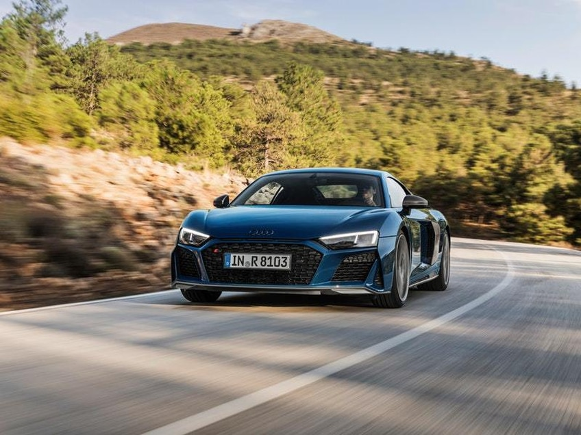 First look: Audi's R8 impresses on track