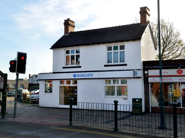 Burntwood left without a bank as Barclays closes two years after it was robbed of £15k