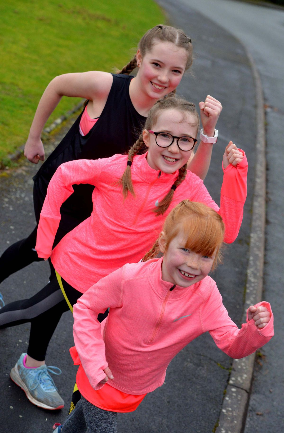 The sisters are helping the charity which treated their mother Helen for breast cancer