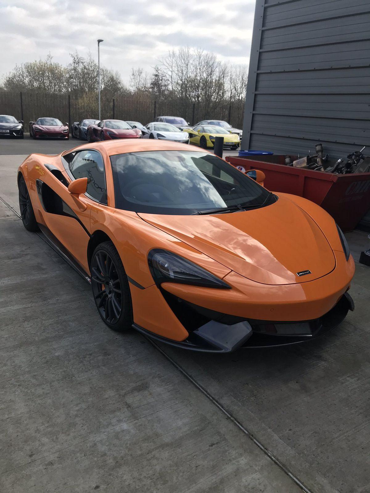 The stolen super car. Photo: Brum City Centre Police