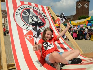 Happy Black Country Day! Enjoying the Black Country Festival celebrations in 2018 was Lily Rolinson