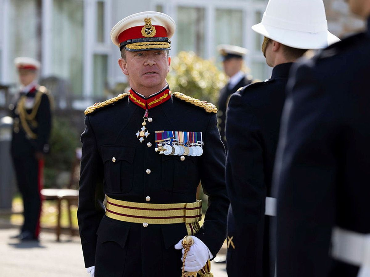 Major General Matthew Holmes