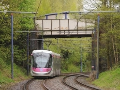 'Crumbling' bridge which spans West Midlands Metro tracks to be removed