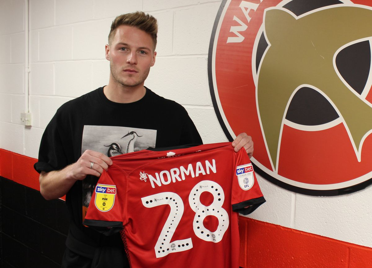 Cameron Norman will wear number 28.
