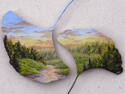 These beautiful paintings drawn on found natural objects will make your jaw drop