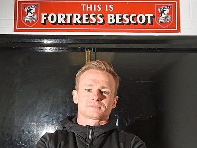Ambitious Dean Keates is aiming high at Walsall