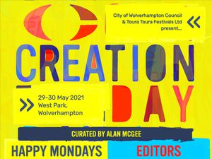 Creation day will see a wide selection of bands come to Wolverhampton