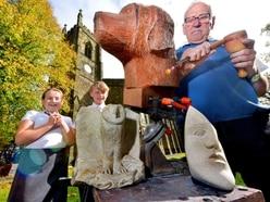 Netherton pupils given a lesson by sculptors