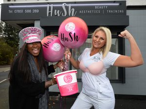 Co-owners of Hush Beauty, Aesthetics and Training Stephanie Allsopp and Helen Pugh