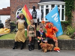 WATCH: Strut with Pride! Black Country family stage alternative parade in their street