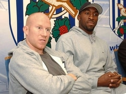 Former West Brom man Lee Hughes will seek out Darren Moore's advice