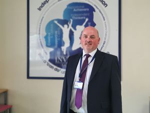 Headteacher Matthew Mynott at Leasowes High School in Halesowen