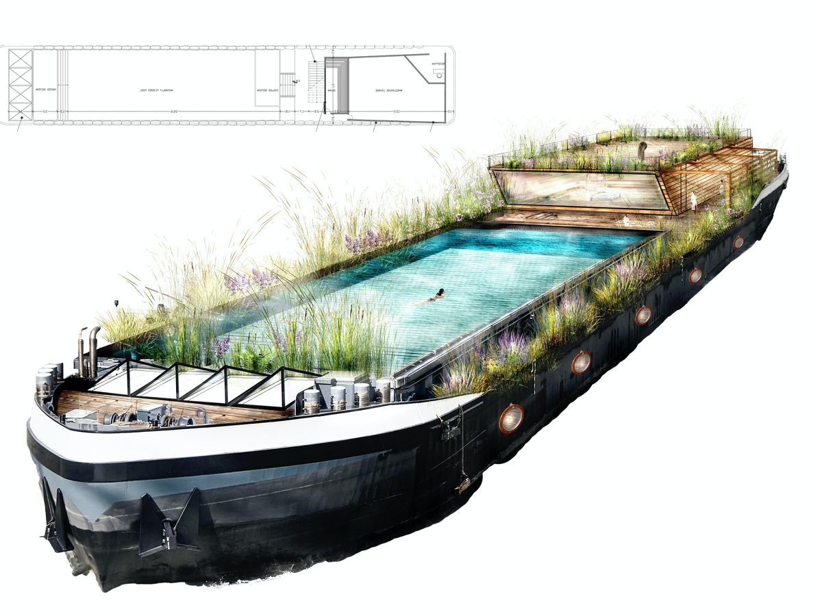 Floating lido plans