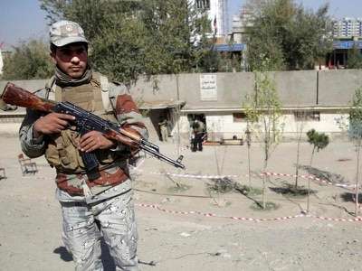 Deaths reported after suicide bombing at polling station for Afghanistan vote