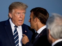Macron personally told Trump about Iran envoy's G7 visit, source says