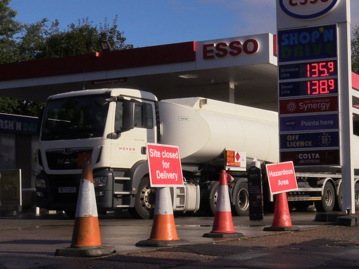 Fewer lorry drivers has led to delays in getting fuel to petrol stations