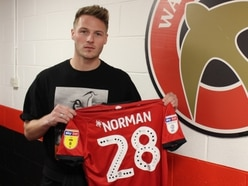 Walsall sign full-back Cameron Norman from Oxford United