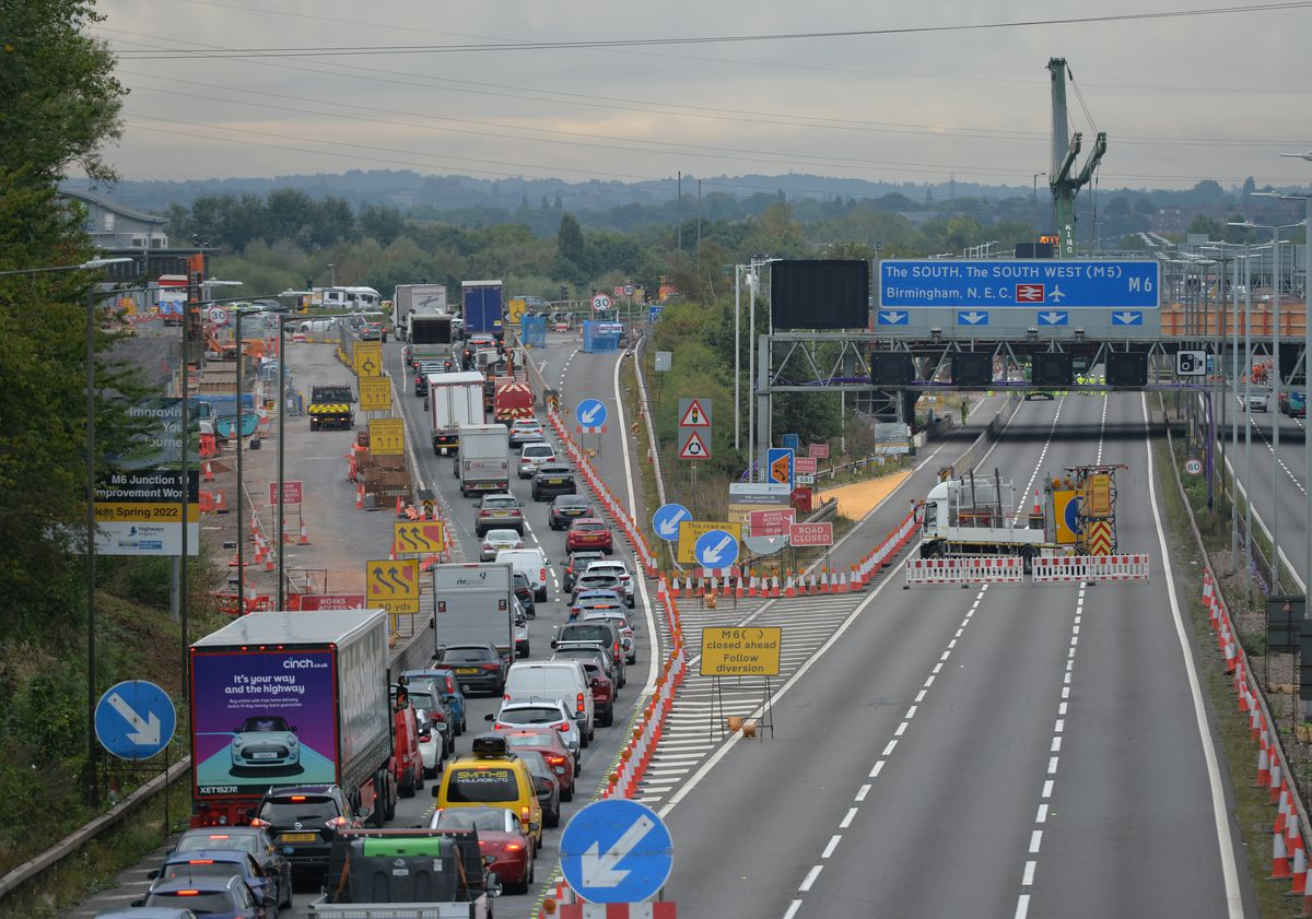 Delays of at least 45 minutes were expected in both directions throughout the weekend
