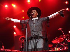 Lauryn Hill. Picture not taken in Birmingham.