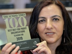 West Bromwich charity ranked 9th in top 100 best 'not-for-profit' companies to work for