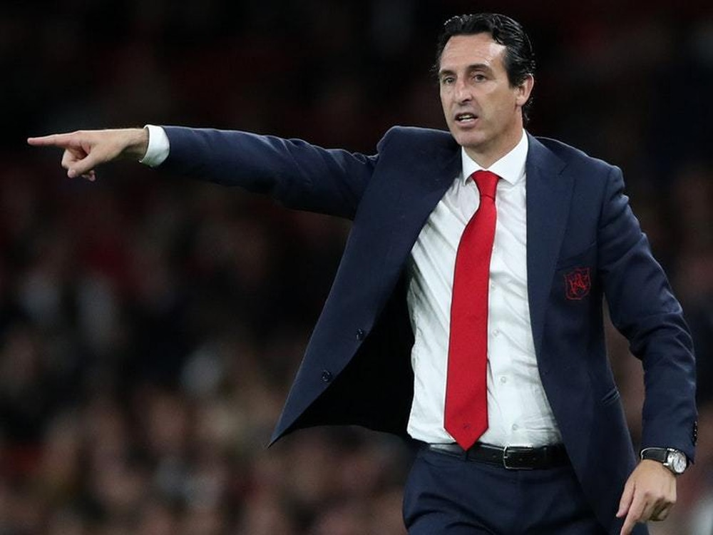 Unai Emery was left wanting more from his players after a sloppy ending to the match